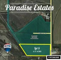 Home for sale: Lot 5 Paradise Estates Subd Hall Rd., Riverton, WY 82501