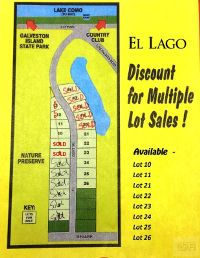 Home for sale: 21 El Lago, Galveston, TX 77554