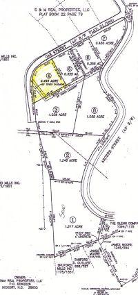 Home for sale: Lot 4 Oak St., Granite Falls, NC 28630
