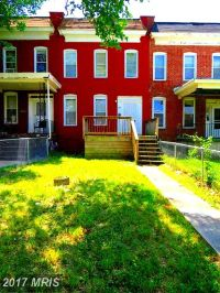 Home for sale: 2859 Garrison W. Avenue, Baltimore, MD 21215