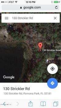 Home for sale: 130 Strickler Rd., Pomona Park, FL 32181