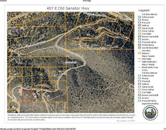 497 E. Old Senator Rd. None, Prescott, AZ 86303 Photo 3