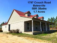Home for sale: 1797 Crouch Rd., Batesville, MS 38606