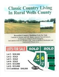Home for sale: 0 Tbd N.W. Sr 116, Markle, IN 46770