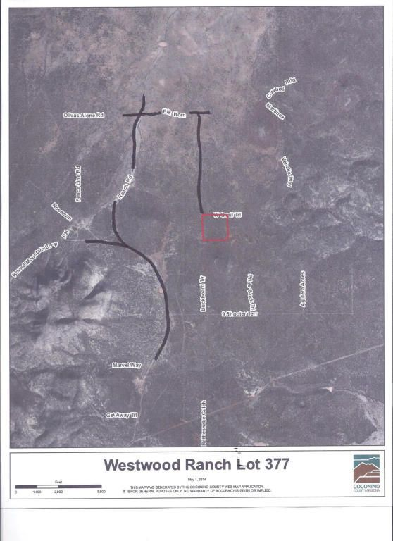377 Westwood Ranch Lot 377, Seligman, AZ 86337 Photo 2